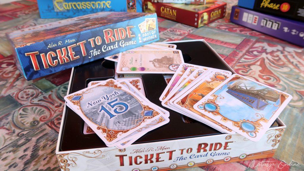 Ticket To Ride Het kaarspel