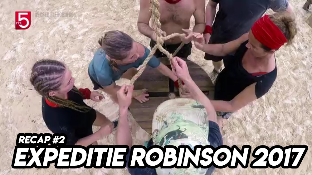 EXPEDITIE ROBINSON 2017 | Recap #2