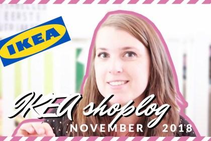 IKEA shoplog