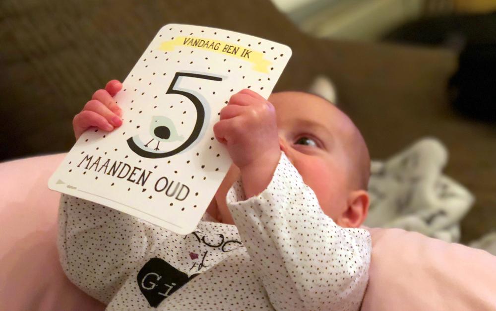 Isabelle 5 maanden