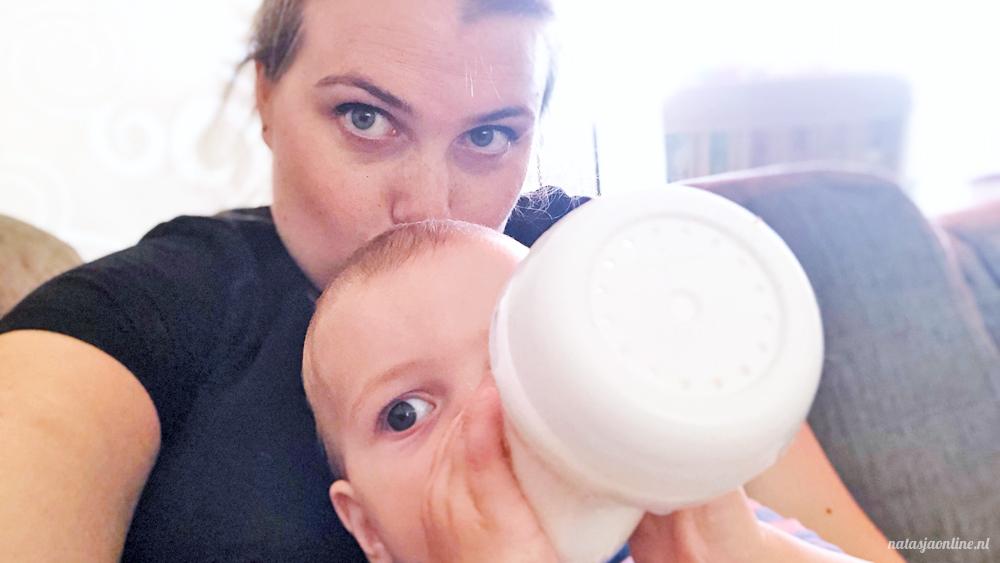 Een maand na het stoppen met borstvoeding