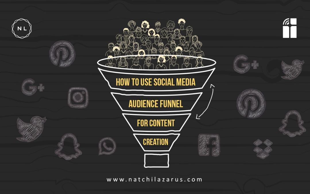 Using Social Media Audience Funnel for Content Creation