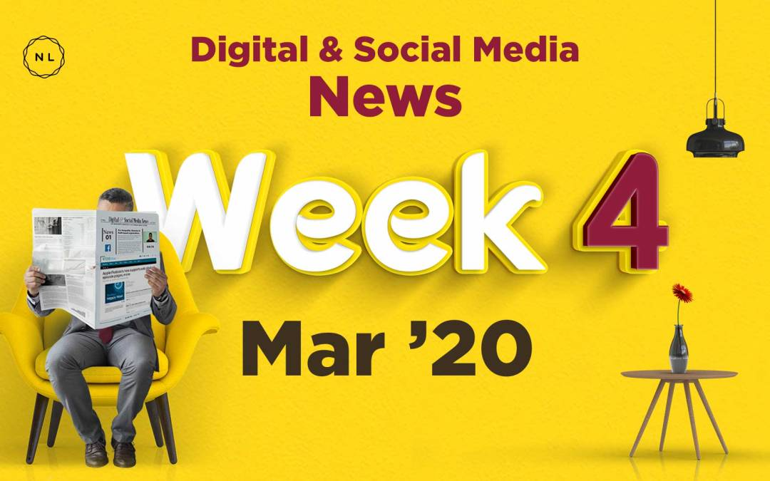 [Week 4, Mar 20] Digital & Social Media News for Nonprofits & Churches