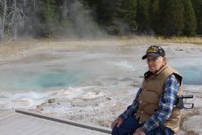 dad at thermal basin