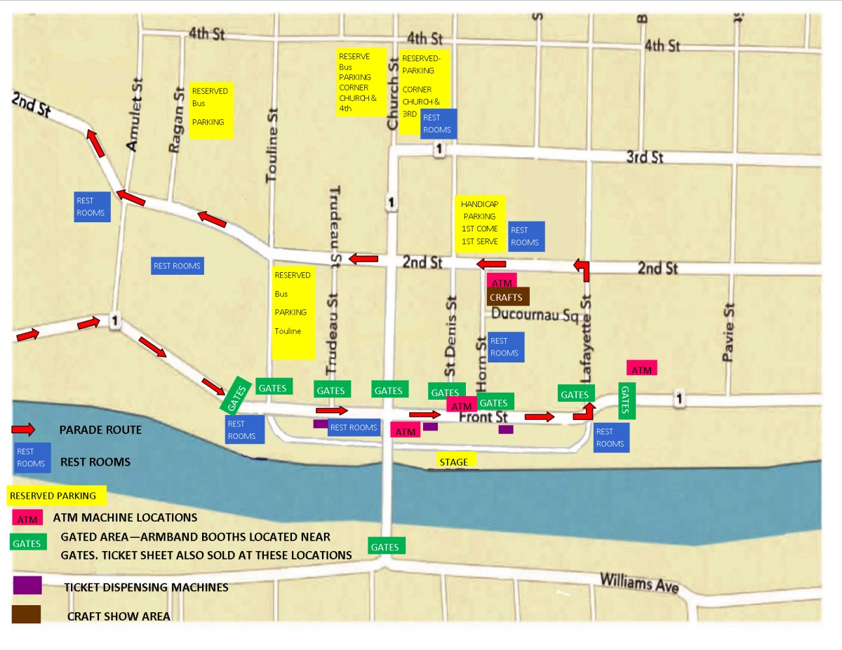 Natchitoches Christmas Festival.Street Closures For 92nd Annual Natchitoches Christmas