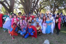 NSU students dressed as favorite characters.