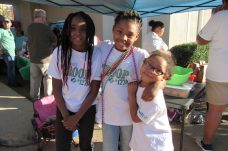 Girls of Girl Scout Group #1270 at the Craft Market were Sylvia Coutee, Zariah Rodgers and Francis Coutee
