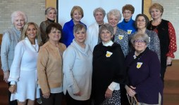 Chapter AG On first row from left Jennifer Wilson, Margaret Berry, (guest) Susan Hilton, Anita Pierce and Janet Flynn. On second row are Kathy Carter and Dottie Mims. On third row are Virginia Crossno, Gayle Howell, Lanell Causey, Judy Summerall, Alma Alost and Sandra McCullen.