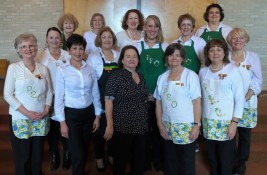 Chapter BG On first row from left Lynn Dix, Chrissey Henry, Connie Jones, Donna Greene and Ellen Tucker. On second row are Denise Bailey, Diane Doughty, Becky Wolff, Vicki Parrish and Chris Evans. On third row are Juli Fleming, Peggy Gilbert, Joanne Yankowski and Pam McCalister.