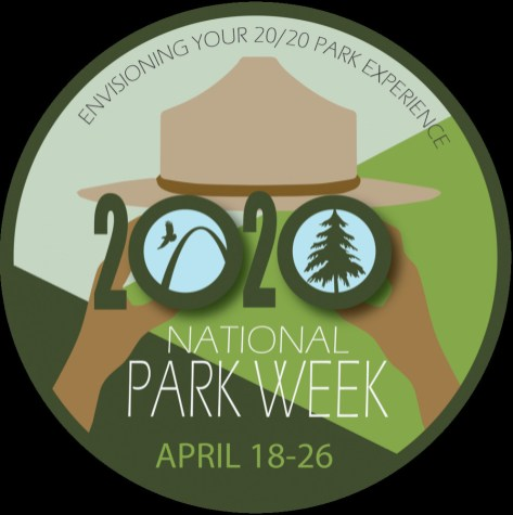 Logo National Park Week 2020