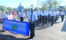 Lakeview's AFJROTC received distinguished unit 'with merit' award