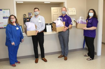 NSU science, technology students, faculty use biomedical, software skills during pandemic