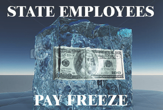 State budget freezes pay as proposal to raise higher education student fees expires