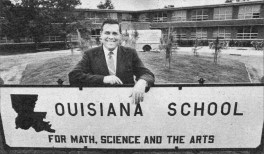 LSMSA to rename gymnasium after visionary of education, Dr. Robert Alost