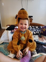 Ryder Berry in his 2020 Scooby outfit.
