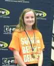 Emma Hatten brought home the bronze medal in her weight class.