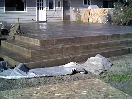 LARGE PATIO W STEPS (2)