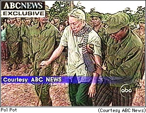 ABC TV stolen pictures frame grab from my copyrighted work. Count them--four separate credits demanding ABC be given credit for photographs taken when ABC did b not even have a staff person in all of Southeast Asia. This photo was hand delivered to the New York Times, The AP and posted on ABC's website