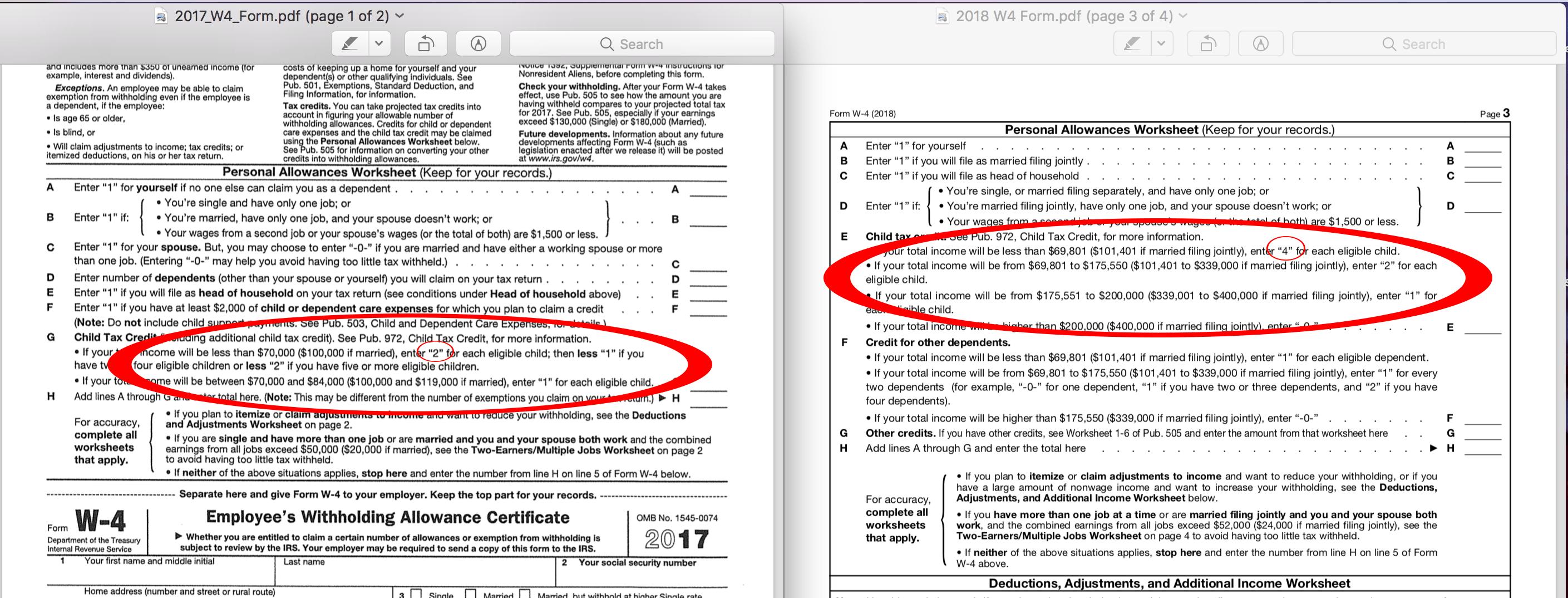A Standard Deduction Worksheet