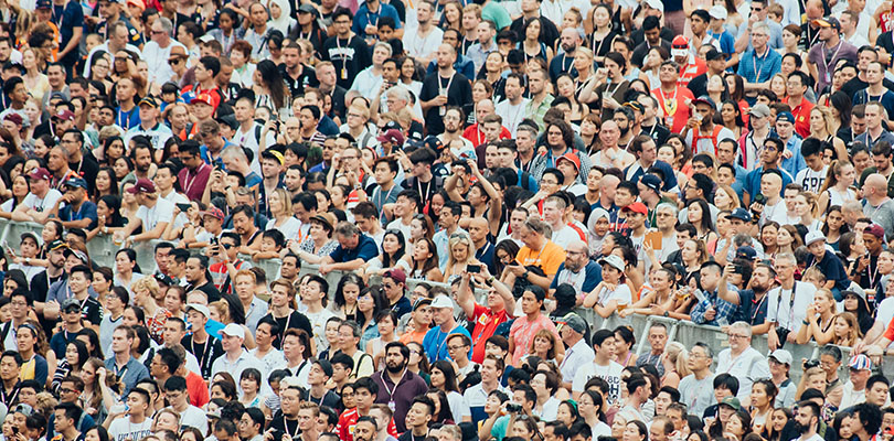 Photo of a crowd of people. It is critical to your business to understand and know your customer