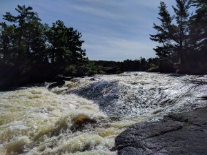 Upper Basswood Falls in the BWCA