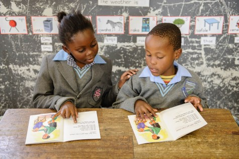 A day at Dikoneng Primary School in Vanderbijlpark | August 2014