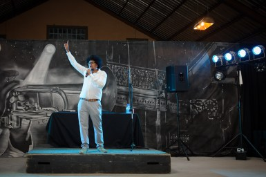 Fun and Laughter with Joey Rasdien at Legend Golf & Safari Resort during the FNB IPH Conference