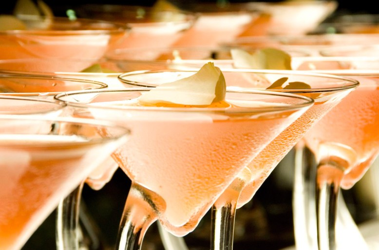 Welcome Drinks at a KPMG Event