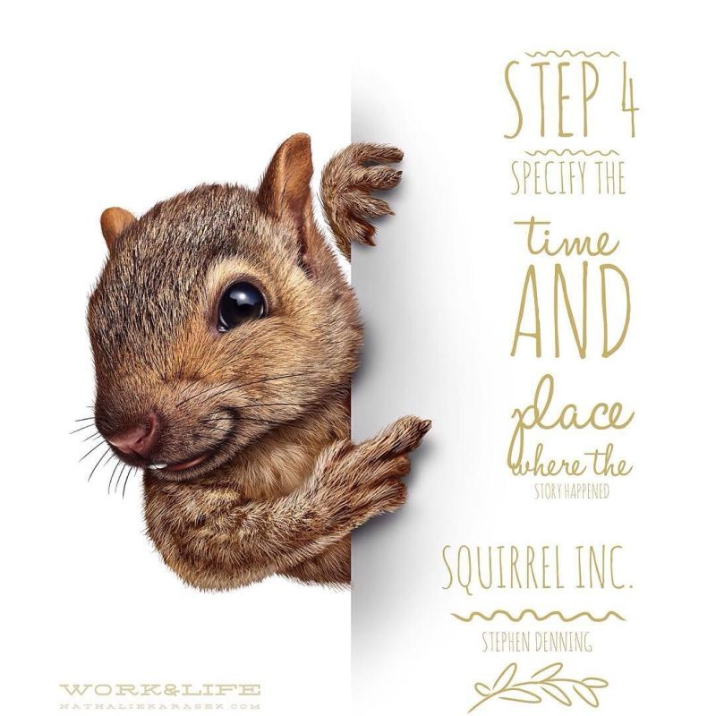 Squirrel Inc Story Telling