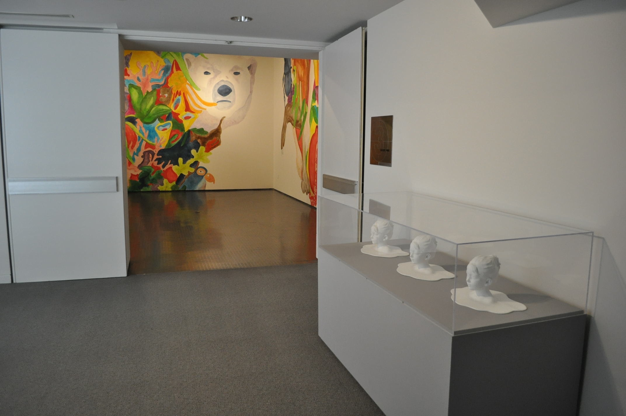 Exhibition view, photo Phocasso/J.W. White and Yerba Buena Center for the Arts