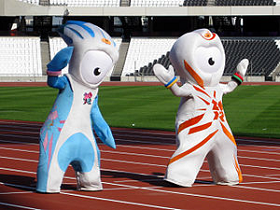 Mandeville & Wenlock, this year's mascots, are among the worst I've seen in some time. Even the English hate it. And they're such jolly people.
