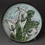bowl (calla lillies)