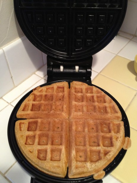 I found a Waffle Maker at the store last Saturday, and it's so exciting! I've made Waffles almost every day since then.