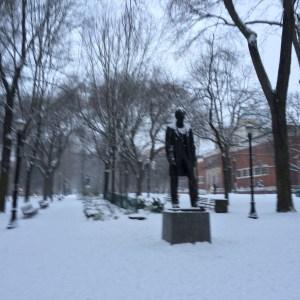 Mr. Lincoln, are you cold?