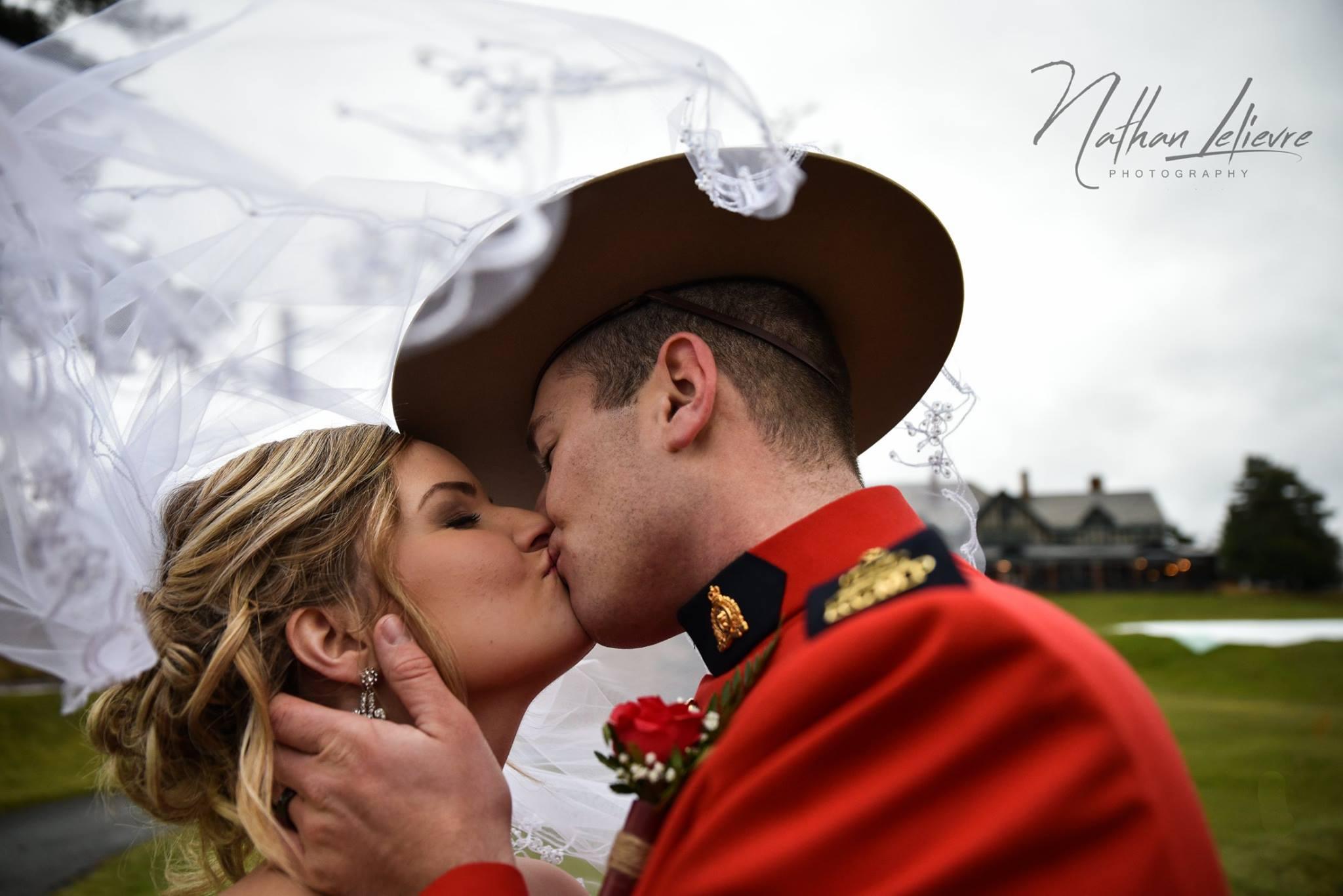 RCMP wedding in Ottawa