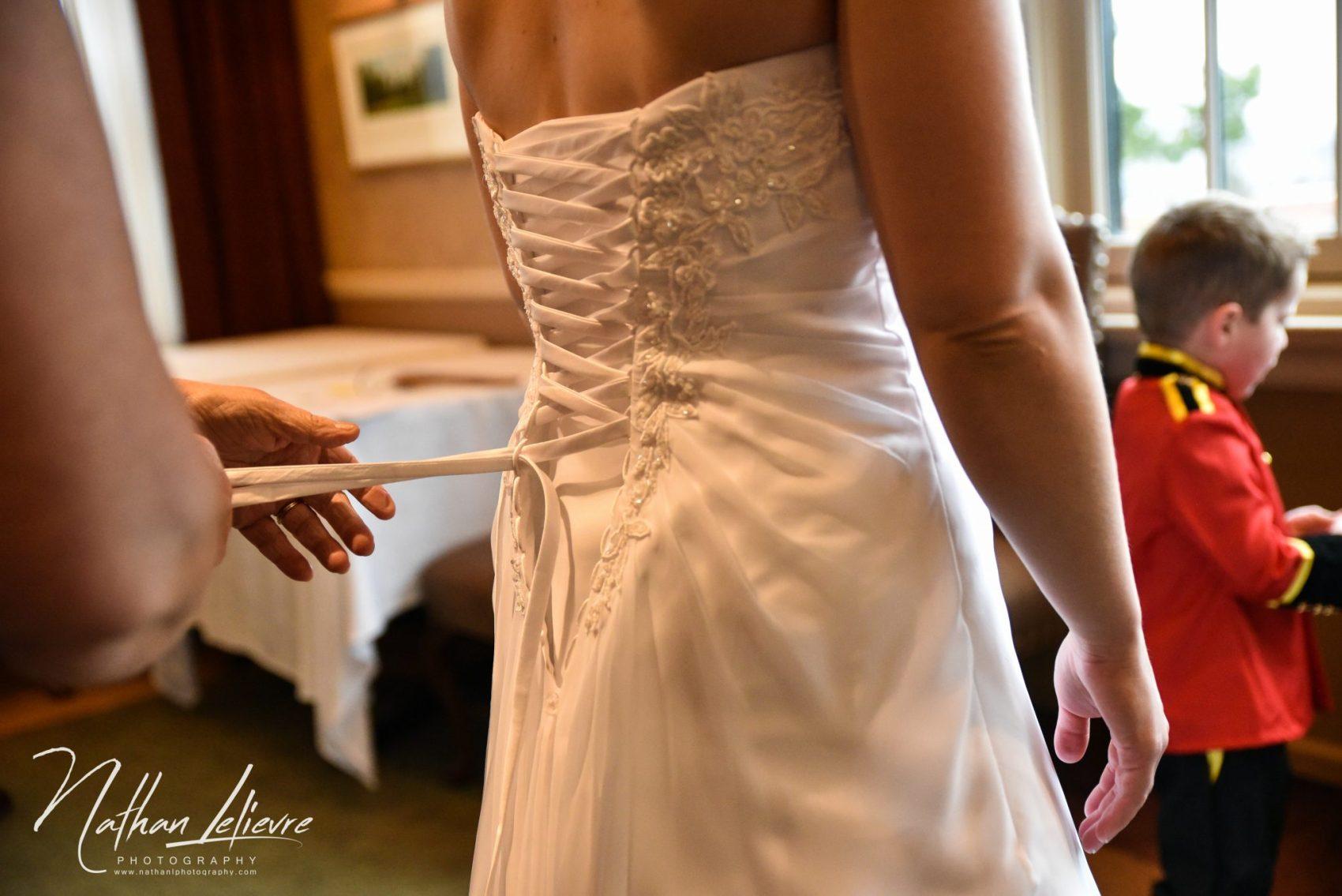 bride getting ready ottawa