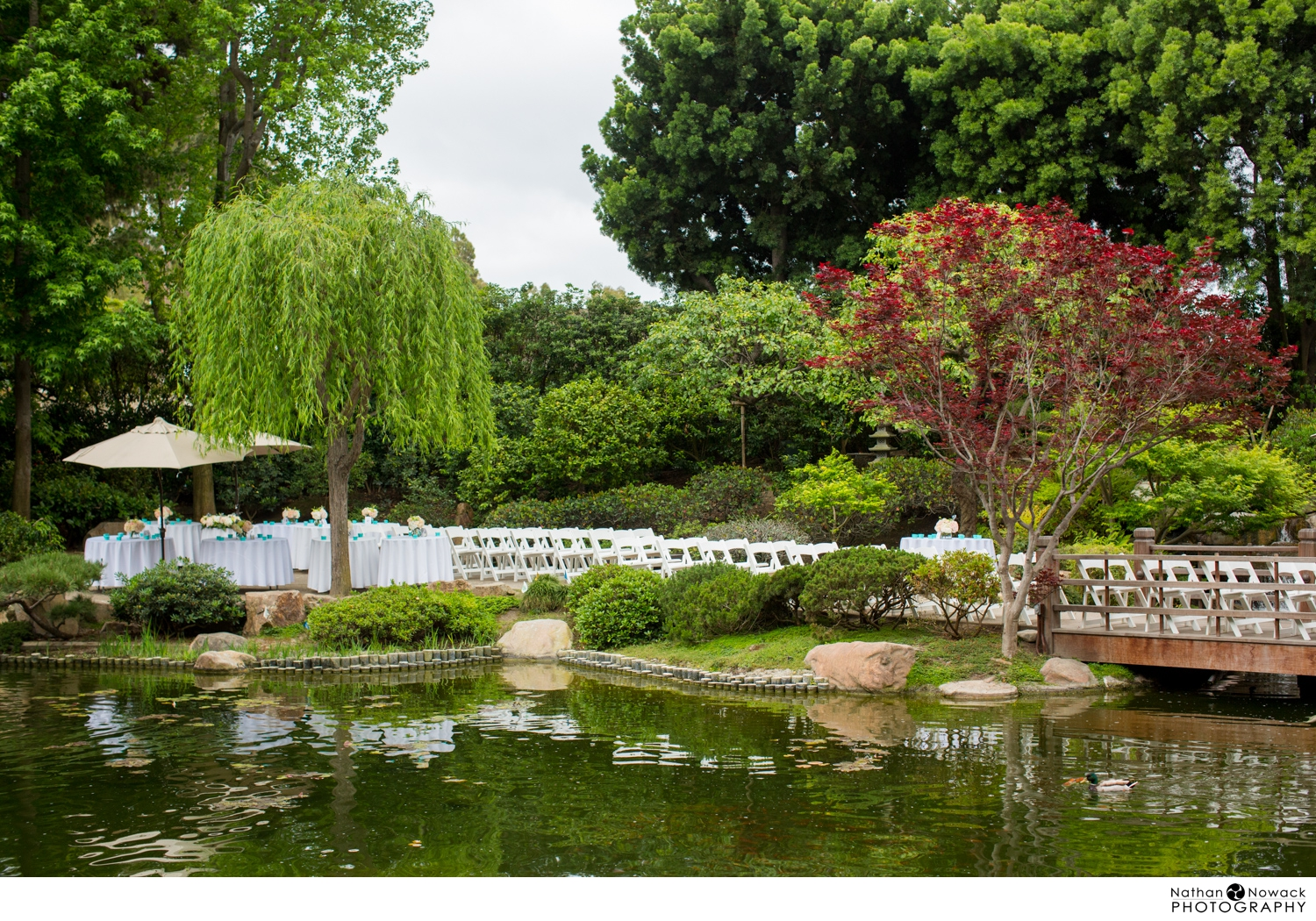 Csu Long Beach Earl Burns Miller Japanese Garden Wedding