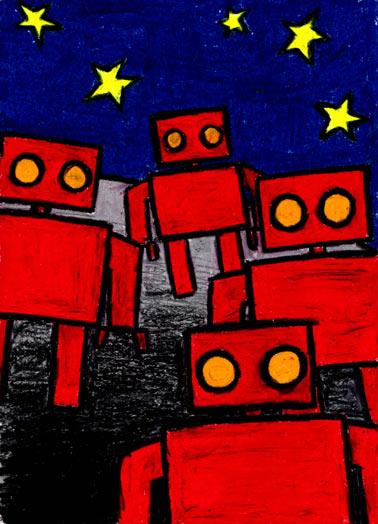 Robot invasion!