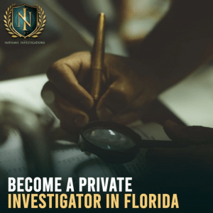 How to become a private investigator.