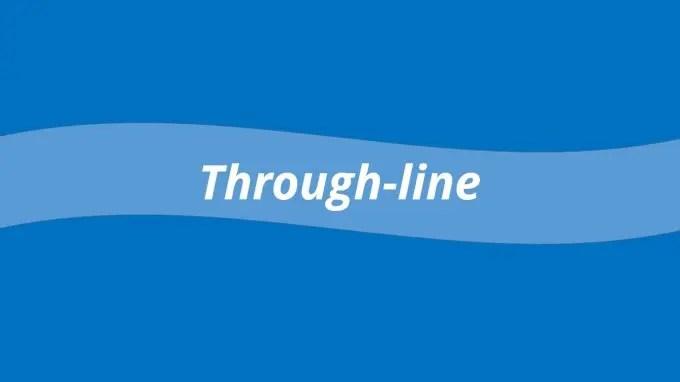 through-line-slide