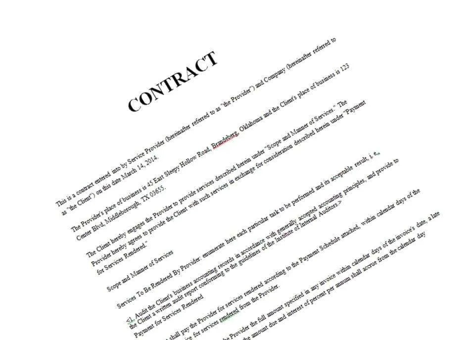 Work Made For Hire Clauses in Contractor Agreements Are You – Work Contract Agreement