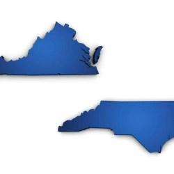 Virginia and North Carolina