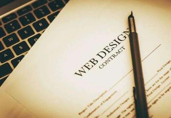 Web design Contract