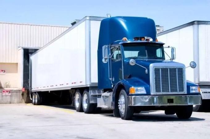 18 wheeler truck