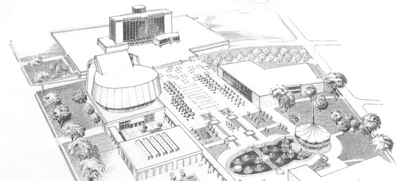 Artist Rendition of the Civic Centre (1965)