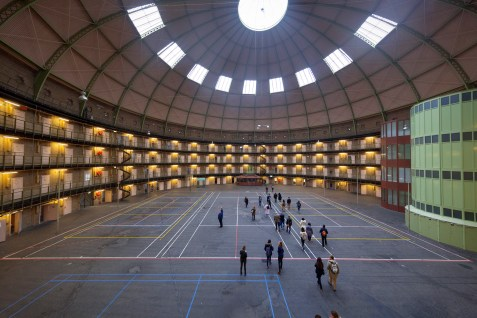 Beyond Amsterdam: A Haarlem Prison Becomes a University