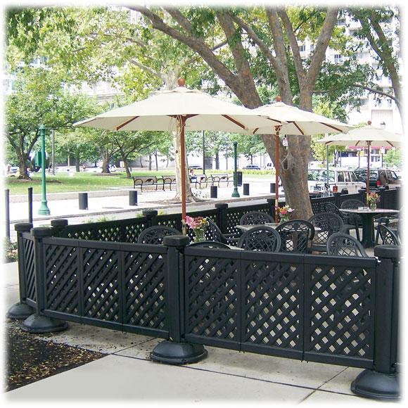 grosfillex portable patio fence
