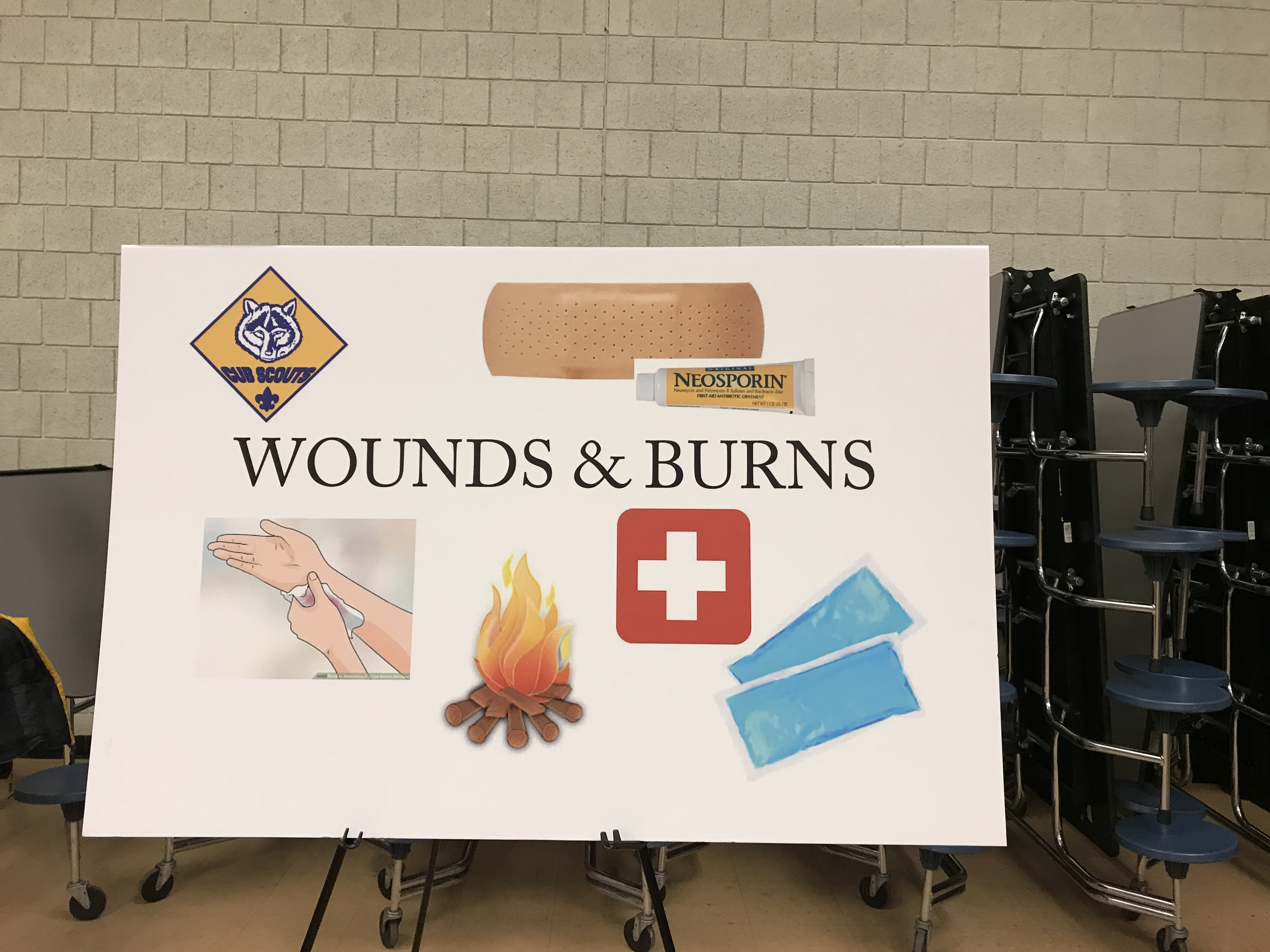 Cub Scout Nwh First Responder Pack Meeting Was A Huge