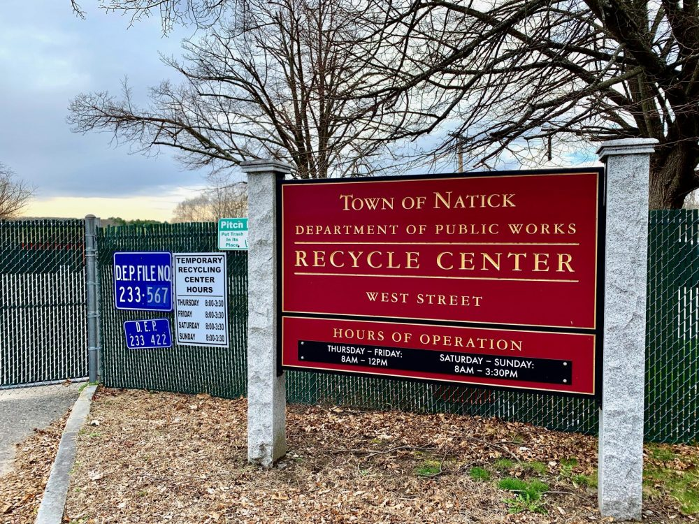 Natick Recycling Center