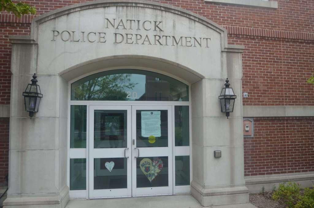 Natick police heart